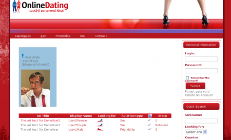 G-Dating - Online Dating Site Builder